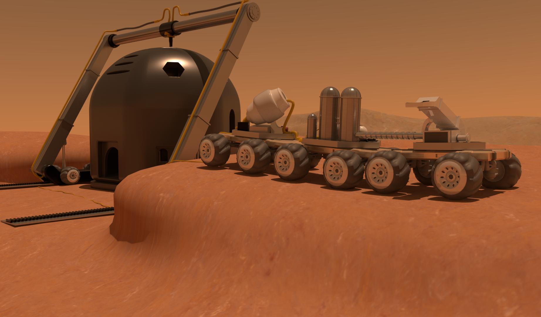 Mars HexHab 2.0