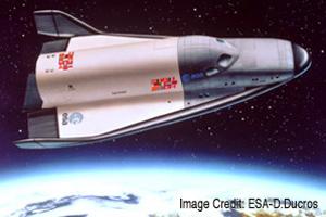 Hermes manned spaceplane