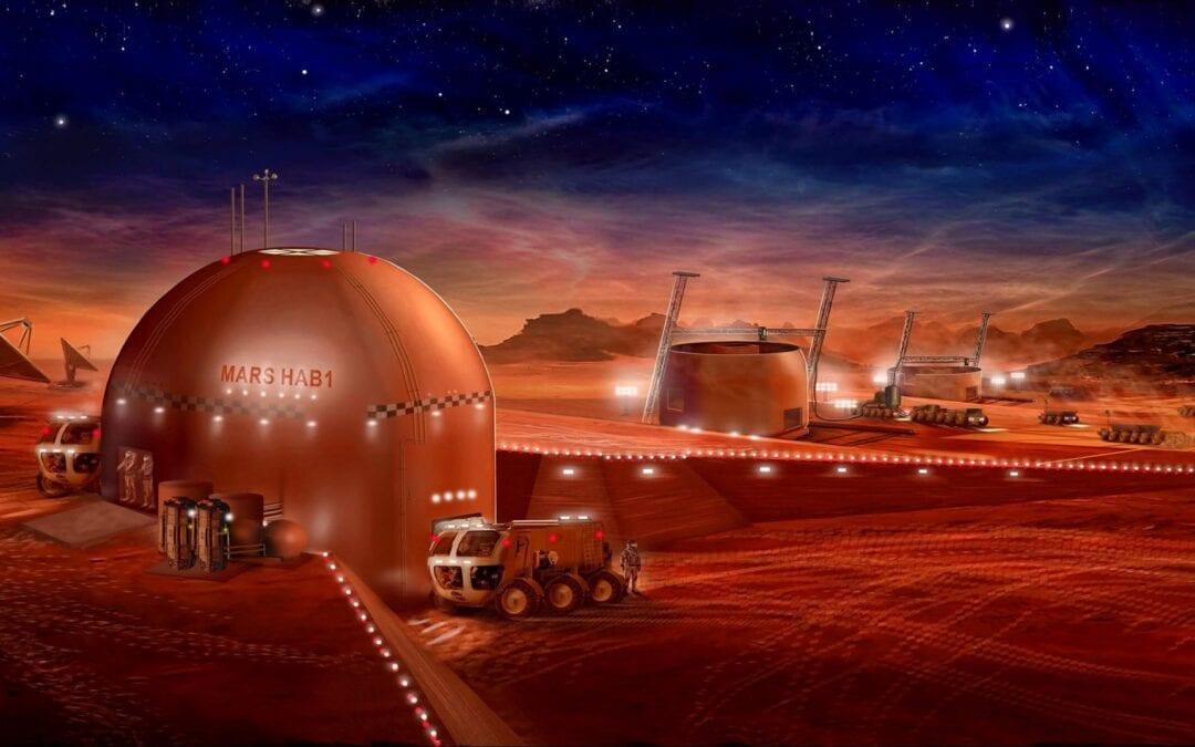 HexHab 3D Printed Mars Habitat